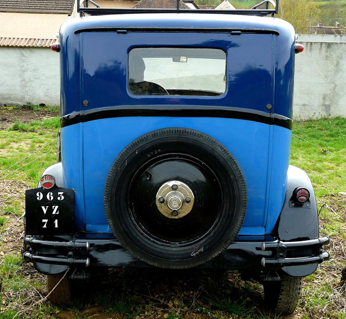 La première C4 de l'Histoire Citroën