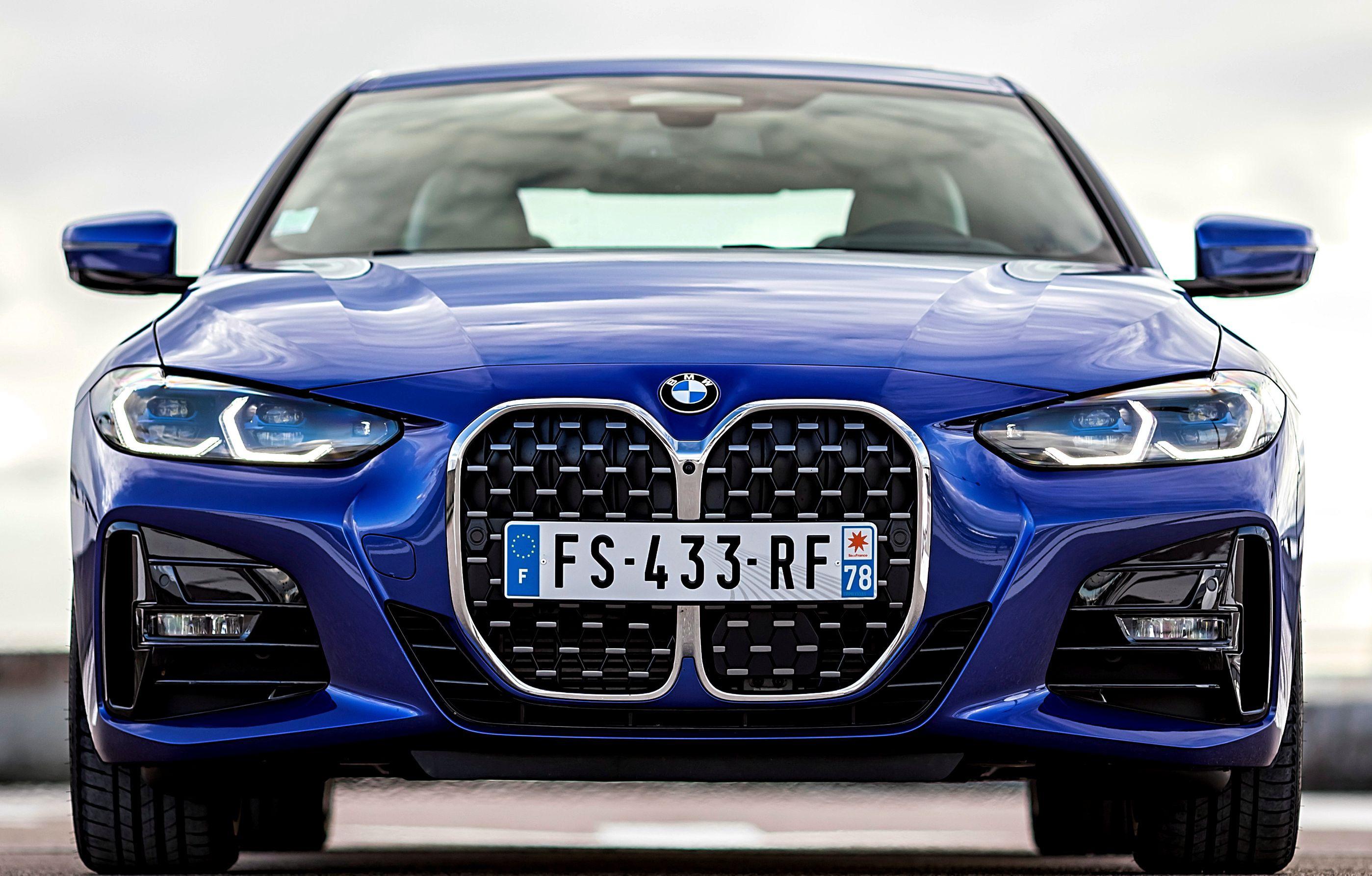 La BMW Série 4 de face