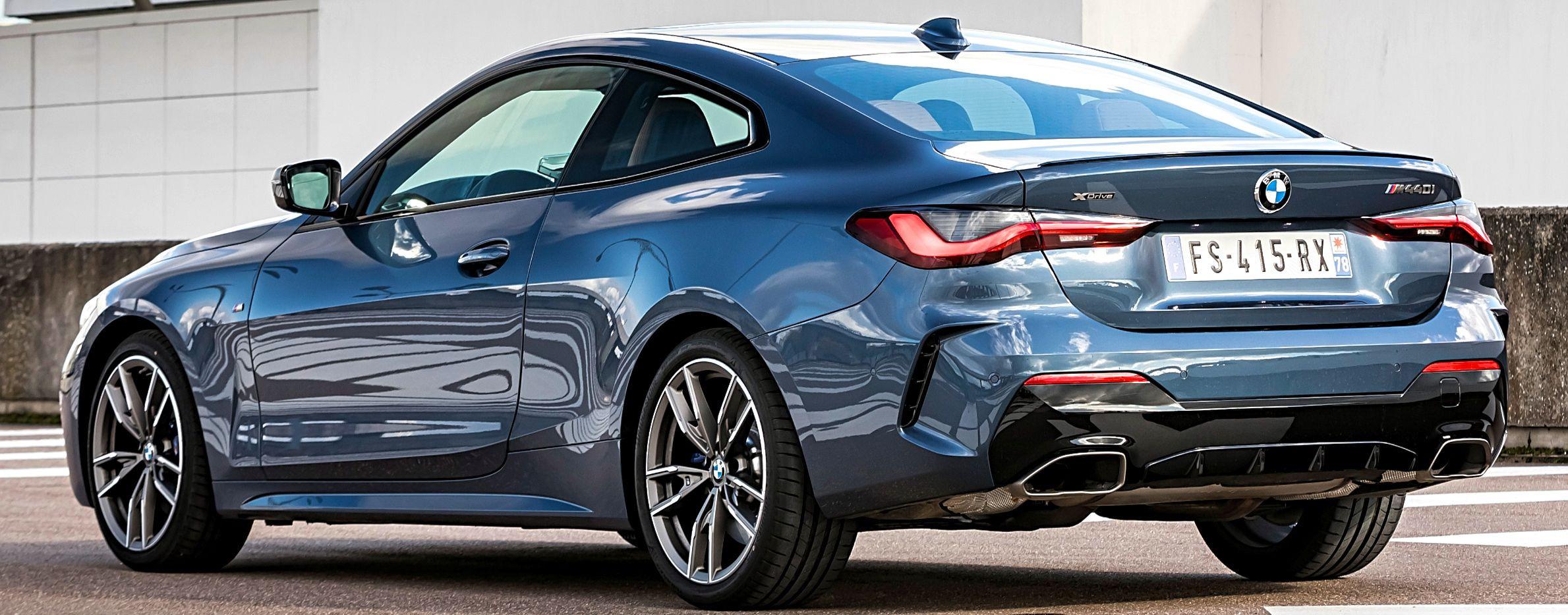 BMW Série 4 /vue arrière