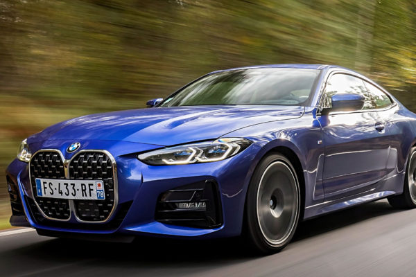 La BMW Série 4 au nouveau méchant look