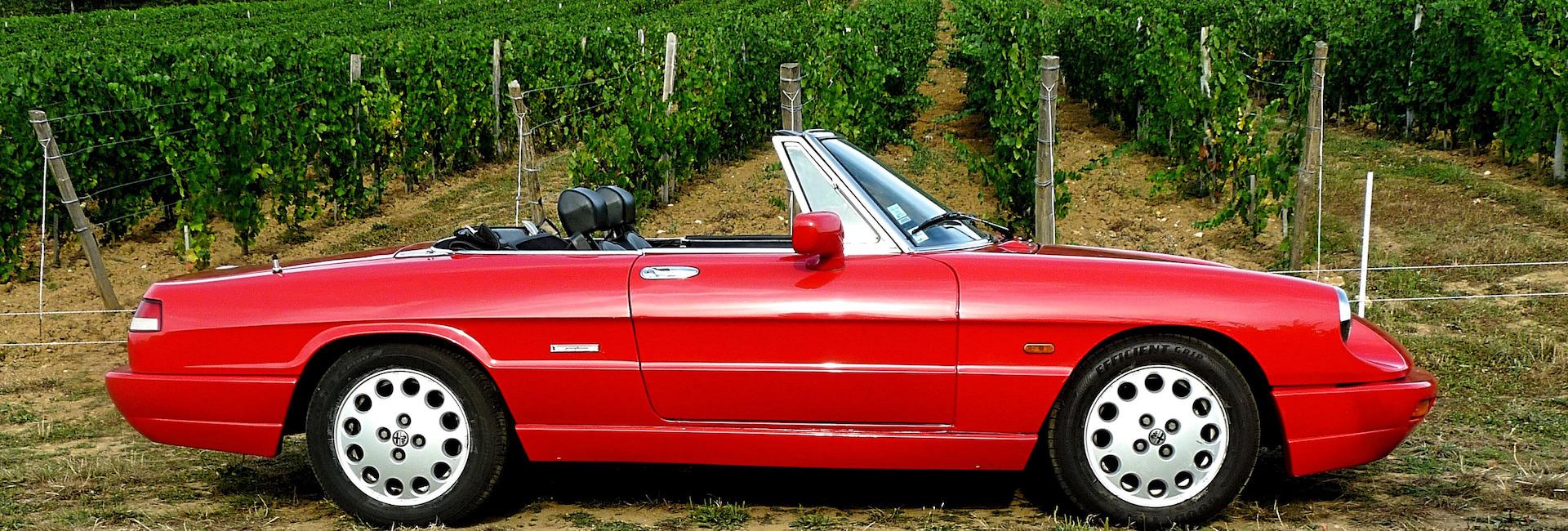 Alfa Romeo spider profil