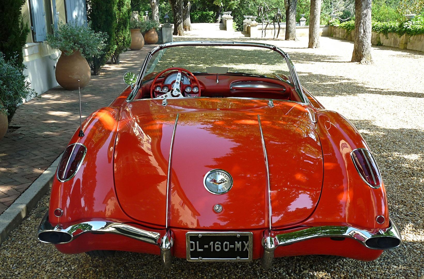 Corvette Chevrolet, arrière