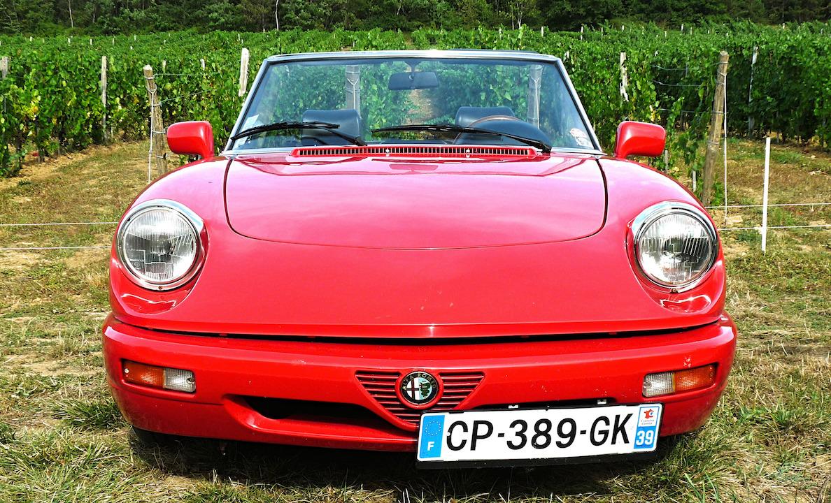 Alfa Romeo spider,avant