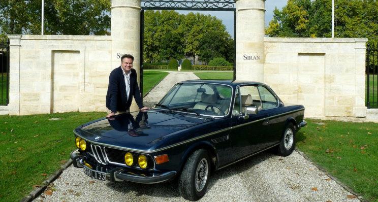 Un grand cru BMW 30 CSI à Margaux