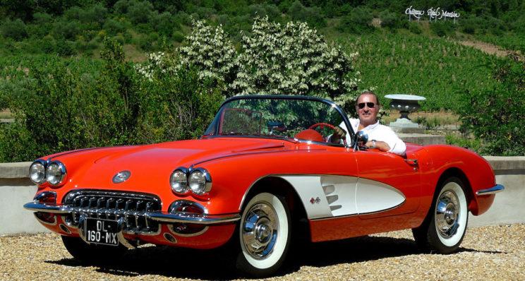 Corvette Chevrolet, une légende de l'Amérique