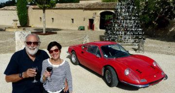 La Dino prend de la bouteille dans le Luberon