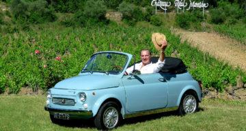 Rarissime, la Fiat 500 Maggiolina vous salue bien