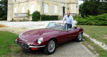Un bijou à Pessac-Léognan, la Jaguar Type E V 12