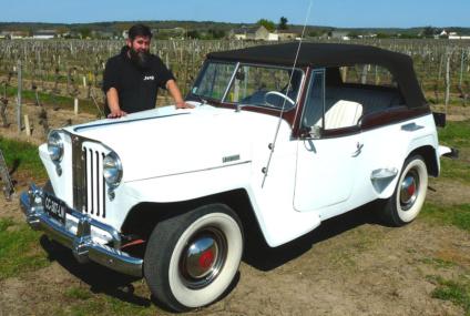 Un fana de Jeepster sur Bourgueil
