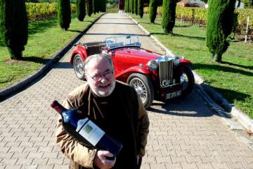 Une MG TC «so british» chez un épicurien du vin
