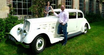 La résurrection d'un coach Peugeot à Chablis