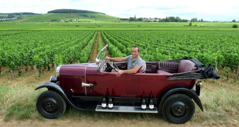 Une Citroën B12 bourguignonne de père en fils