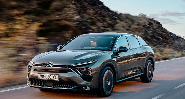 Nouvelle C5 X Citroën 3/4 face