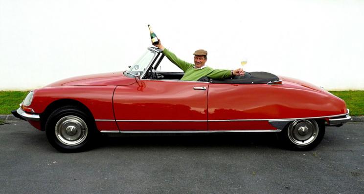 Un fana deDS cabriolet en Champagne
