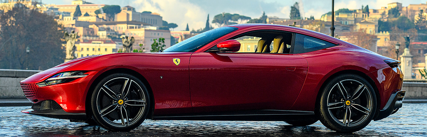 profil Ferrari Roma