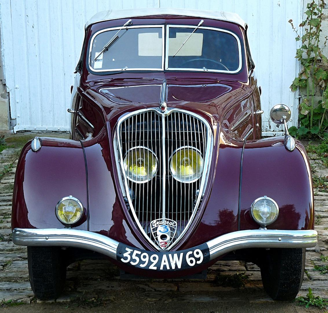 302 Peugeot cabriolet:6
